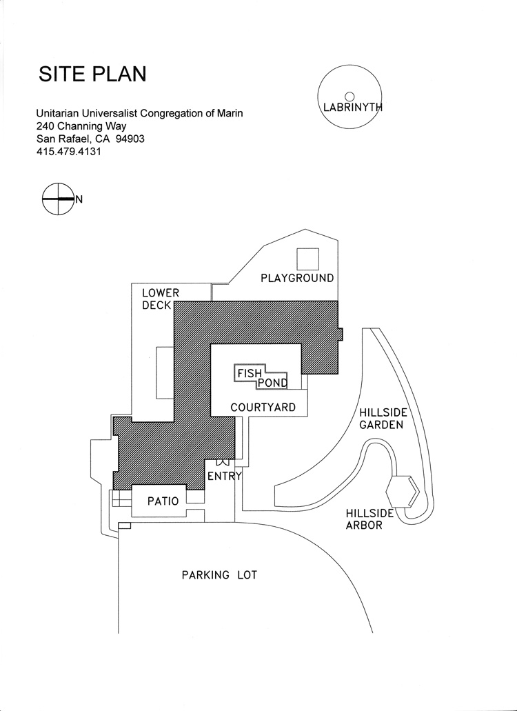 UUCM Site Plan