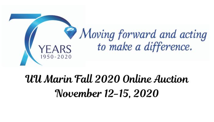 Fall Online Auction, Nov 12-15, 2020