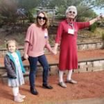 Three generations of members.